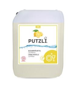 Ökologisches Geschirrspülmittel Zitrone - 20l - Putzli