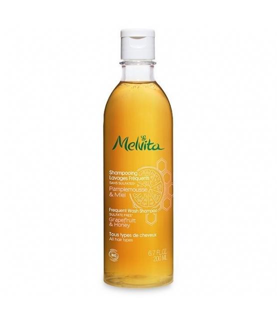 BIO-Shampoo Häufige Haarwäsche Pampelmuse & Honig - 200ml - Melvita