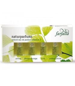 Paquet-Cadeau BIO parfums naturels Collection 2 - 4x2ml - Farfalla