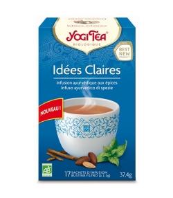 BIO-Gewürzteemischung mit Kakao - Frischer Geist - 17 Teebeutel - Yogi Tea