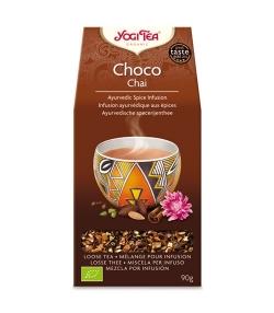 Infusion d'écorces de cacao, cannelle & cardamome BIO – Choco Chai – 90g – Yogi Tea
