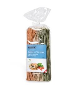 BIO-Dinkel-Tricolore-Taglierini – 350g – Biofarm