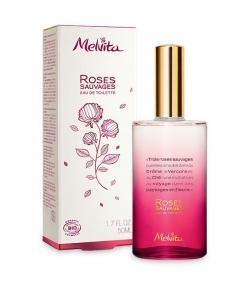 BIO-Eau de toilette 3 Wildrosen - 50ml - Melvita Nectar de Roses