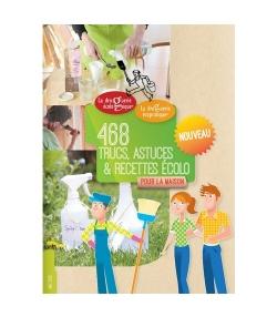 Carnet de 468 trucs, astuces & recettes écolo pour la maison - La droguerie écologique