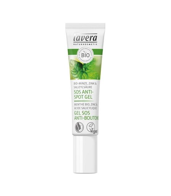 Anti-Pickel BIO-Gel Minze, Zink & Salizylsäure - 15ml - Lavera