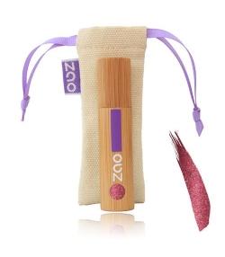 Vernis à lèvres nacré BIO N°032 Prune - 5ml - Zao Make-up