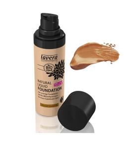 Fond de teint liquide BIO N°06 Almond Caramel - 30ml - Lavera