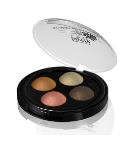 Illuminating BIO-Quattro-Lidschatten N°03 Indian Dream - 4x0,5g - Lavera