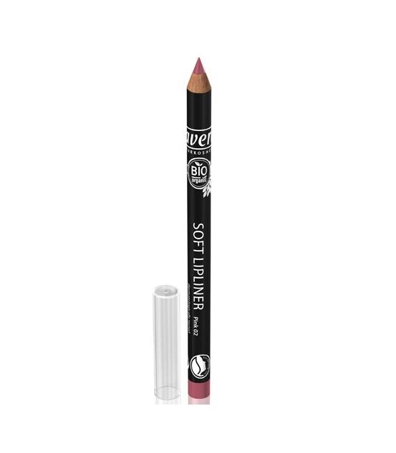 Crayon contour des lèvres BIO N°02 Pink - 1,14g - Lavera
