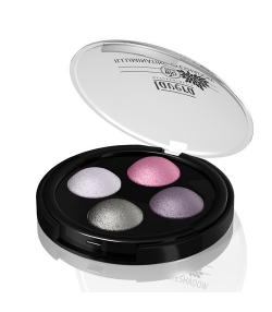 Quatres ombres à paupières illuminatrices BIO N°02 Lavender Couture - 4x0,5g - Lavera