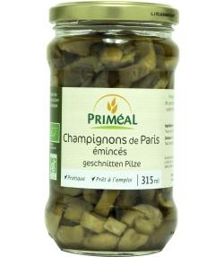 Champignons émincés en conserve BIO - 315ml - Priméal