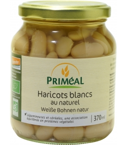 Haricots blancs en conserve BIO - 370ml - Priméal [FR]