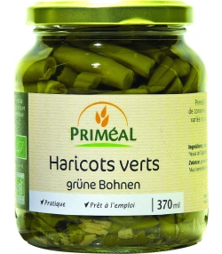 Haricots verts en conserve BIO - 370ml - Priméal [FR]