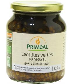 Lentilles vertes en conserve BIO - 370ml - Priméal [FR]