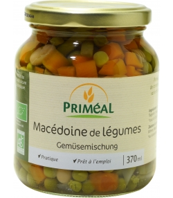 Macédoine de légumes en conserve BIO - 370ml - Priméal