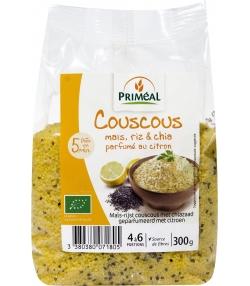 Couscous maïs, riz & chia parfumé au citron BIO - 300g - Priméal