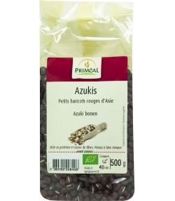 Azuki petits haricots rouges BIO - 500g - Priméal [FR]