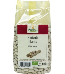 Haricots blancs BIO - 500g - Priméal