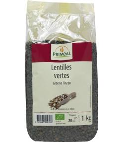 Lentilles vertes BIO - 1kg - Priméal
