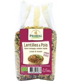 Lentilles & pois BIO – 500g – Priméal