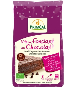 Vite un gâteau fondant au chocolat BIO - 300g - Priméal