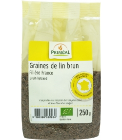 Graines de lin brun BIO - 250g - Priméal
