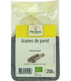 Graines de pavot BIO - 250g - Priméal [FR]