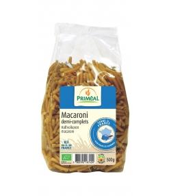 Macaronis de blé dur demi-complets BIO - 500g - Priméal