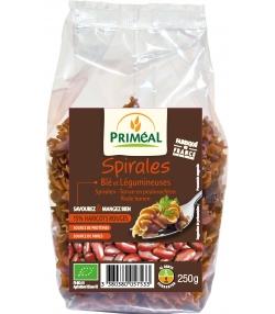 Spirales blé & haricots rouges BIO - 250g – Priméal