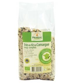 Trio de riz de Camargue longs complets BIO - 500g - Priméal