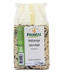 Riz mélange sauvage BIO - 500g - Priméal