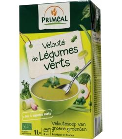 Velouté de légumes verts BIO – 1l – Priméal