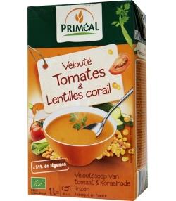 Velouté de tomates & lentilles corail BIO – 1l – Priméal