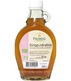 Sirop d'érable grade C BIO - 250ml - Priméal