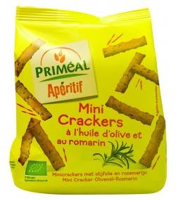 Mini crackers à l'huile d'olive et au romarin BIO – 100g – Priméal