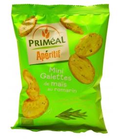 Mini galettes de maïs au romarin BIO – 50g – Priméal