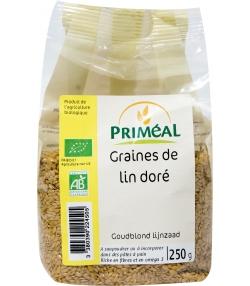 Graines de lin doré BIO - 250g - Priméal [FR]