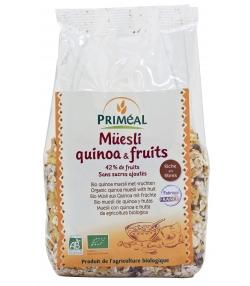 Müesli quinoa BIO et fruits BIO - 350g - Priméal [FR]