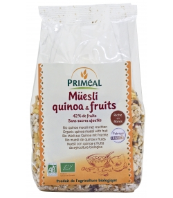 Müesli quinoa BIO et fruits BIO - 350g - Priméal
