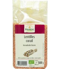 Lentilles corail BIO - 500g - Priméal