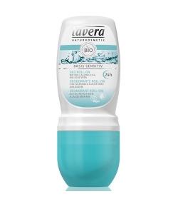 Déodorant à bille 24h BIO calendula & aloe vera – 50ml – Lavera Basis Sensitiv