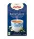 BIO-Kräutertee mit Fenchel, Kamille & Hopfen - Abend Tee - 17 Teebeutel - Yogi Tea