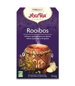 Infusion de rooibos BIO – Rooibos – 17 sachets – Yogi Tea
