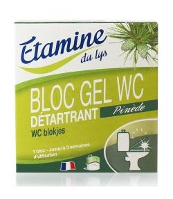 Bloc gel WC écologique pin & eucalyptus – 50ml – Etamine du lys