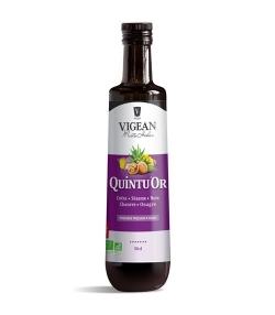 Huile de colza, sésame, noix, chanvre & onagre BIO – QuintuOr – 50cl – Vigean