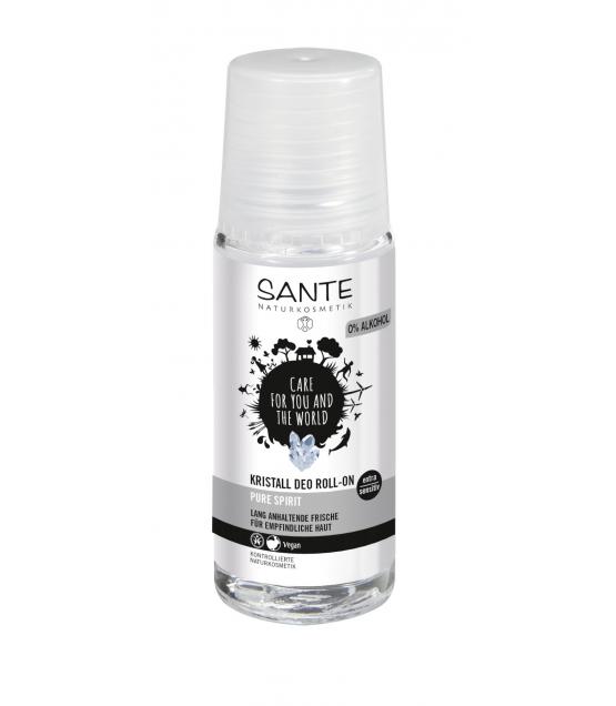 Déodorant à bille BIO cristal d'alun - 50ml - Sante