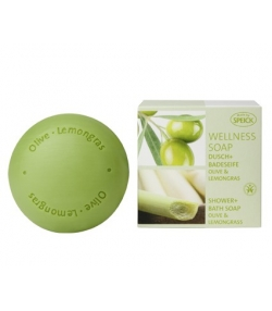 Savon naturel Wellness olive & lemongrass - 200g - Speick