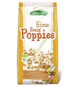 BIO-Hirse-Honig-Poppies - 200g - Allos