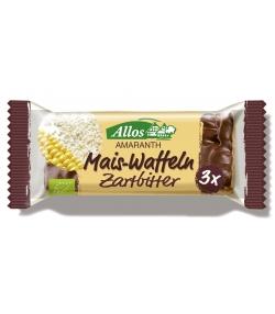 BIO-Mais-Amaranth-Waffeln mit Zartbitterschokolade - 37g - Allos