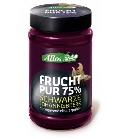 BIO-Fruchtaufstrich Schwarze Johannisbeere - 250g - Allos